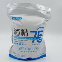YASCO昭惠75%酒精濕紙巾-單片包裝(24片/包)