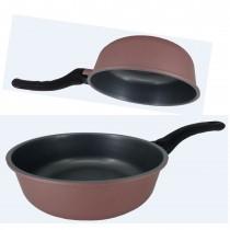 【韓國ECORAMIC鈦晶石頭抗菌不沾鍋】20公分小家庭萬用深鍋 (無附鍋蓋)